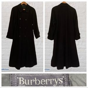 Vintage Burberry Prorsum Trench Coat Loden Wool